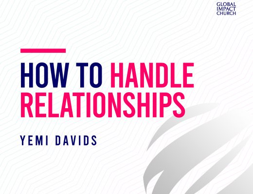 How To Handle Relationships | Yemi Davids